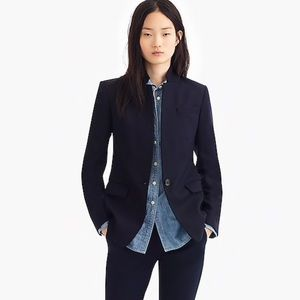 J.Crew Regent Blazer in Wool Flannel